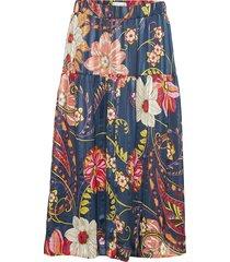 cokko skirt knälång kjol multi/mönstrad lollys laundry