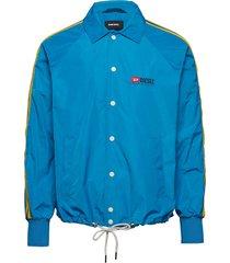 j-akito jacket tunn jacka blå diesel men