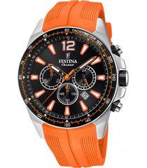 reloj the originals naranja festina