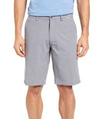 men's travismathew beck stretch performance shorts, size 40 - grey