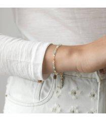 anni lu women's pfeiffer beach bracelet - gold