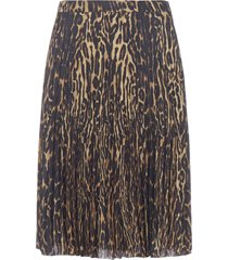 burberry rersby leopard print skirt