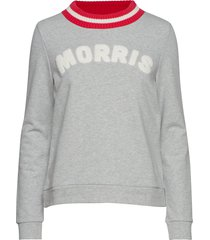 corrine sweatshirt sweat-shirt tröja grå morris lady