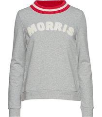 corrine sweatshirt sweat-shirt tröja grå morris lady