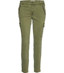 pxelva pant byxa med raka ben grön pulz jeans