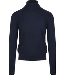 dark blue man turtleneck pullover