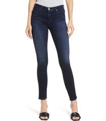 ag the legging ankle super skinny jeans, size 28 in sundown at nordstrom