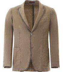 the gigi linen blazer