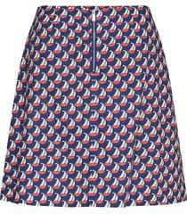 linh skirt kort kjol multi/mönstrad storm & marie