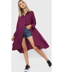 camisa violeta skanda astrid