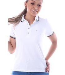 camisa polo cp0721 regular traymon branca - kanui