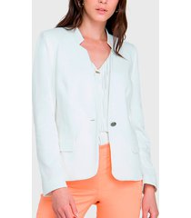 blazer io blanco - calce regular