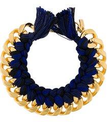 aurelie bidermann do brasil bracelet - blue