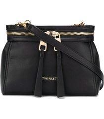 twin-set bolsa tiracolo new cécile - preto