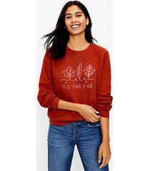 loft it's fall y'all sweatshirt