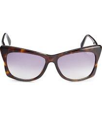 emilio pucci women's 59mm cat eye sunglasses - violet