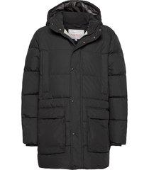 d2. the long alta down jacket gevoerd jack zwart gant