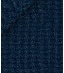 giacca da uomo su misura, tessitura di quaregna, blu hopsack, autunno inverno | lanieri