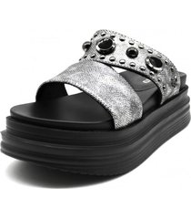 sandalia gris gotta