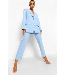 getailleerde baggy broek, dusty blue