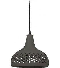 lampa wisząca ceramiczna marcus czarna