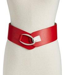 inc interlocking-hook stretch belt, created for macy's