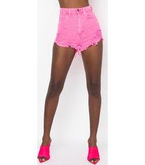 akira bubblicious denim shorts