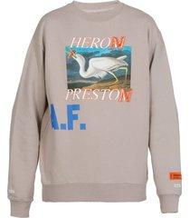 heron preston heron a.f. sweatshirt
