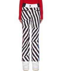 x jcc 'skifi' graphic print ski pants
