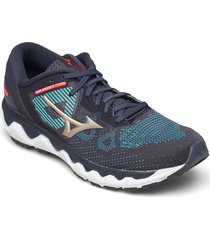 wave horizon 5 shoes sport shoes running shoes blå mizuno