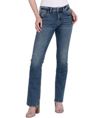 silver jeans co. avery slim bootcut jeans