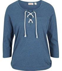 maglia con maniche a 3/4 (blu) - john baner jeanswear