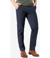 dockers men's workday smart 360 flex straight fit khaki stretch pants