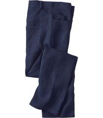 linnen broek in 5-pocket-style, nachtblauw 54