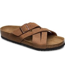 lugano shoes summer shoes sandals brun birkenstock