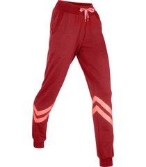 pantaloni in felpa lunghi livello 1 (viola) - bpc bonprix collection