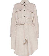 vilde jacket wollen jas lange jas crème soft rebels
