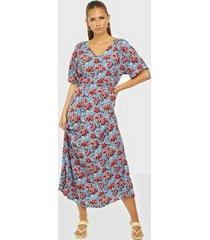 jacqueline de yong jdyflame 2/4 long dress wvn maxiklänningar