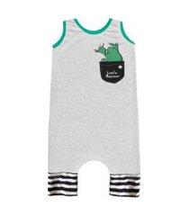 pijama regata comfy bolso little monster