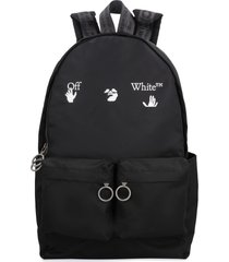 off-white technical fabric backpack