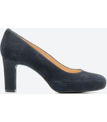 tacones casuales mujer unisa shoes z098 azul naval