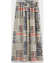 scotch & soda geplooide chiffon rok