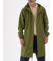rains long jacket - sage 1202