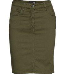 wgc698bs3300 knälång kjol grön love moschino