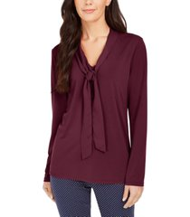 charter club woven tie top, created for macy's
