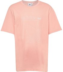 sprt 3s tee t-shirts short-sleeved rosa adidas originals