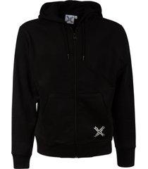 kenzo full-zip sport hoodie