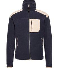 donatello fleece jacket sweat-shirts & hoodies fleeces & midlayers blauw fram