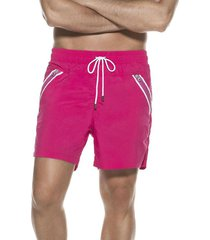 pantaloneta solids sea fit rojo cereza ondademar
