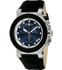 reloj invicta negro modelo 1074r para hombres, colección ocean reef
